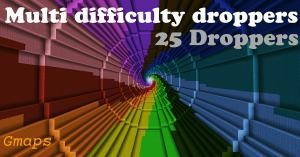 Tải về Multi Difficulty Droppers cho Minecraft 1.10