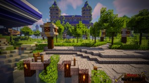 Tải về Castle and Gladiator Arena cho Minecraft 1.13.2