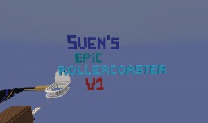 Tải về Sven's Epic Rollercoaster cho Minecraft 1.14.3