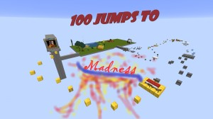 Tải về 100 Jumps to Madness cho Minecraft 1.15.2