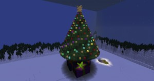 Tải về Journey to the Christmas Tree cho Minecraft 1.12.1